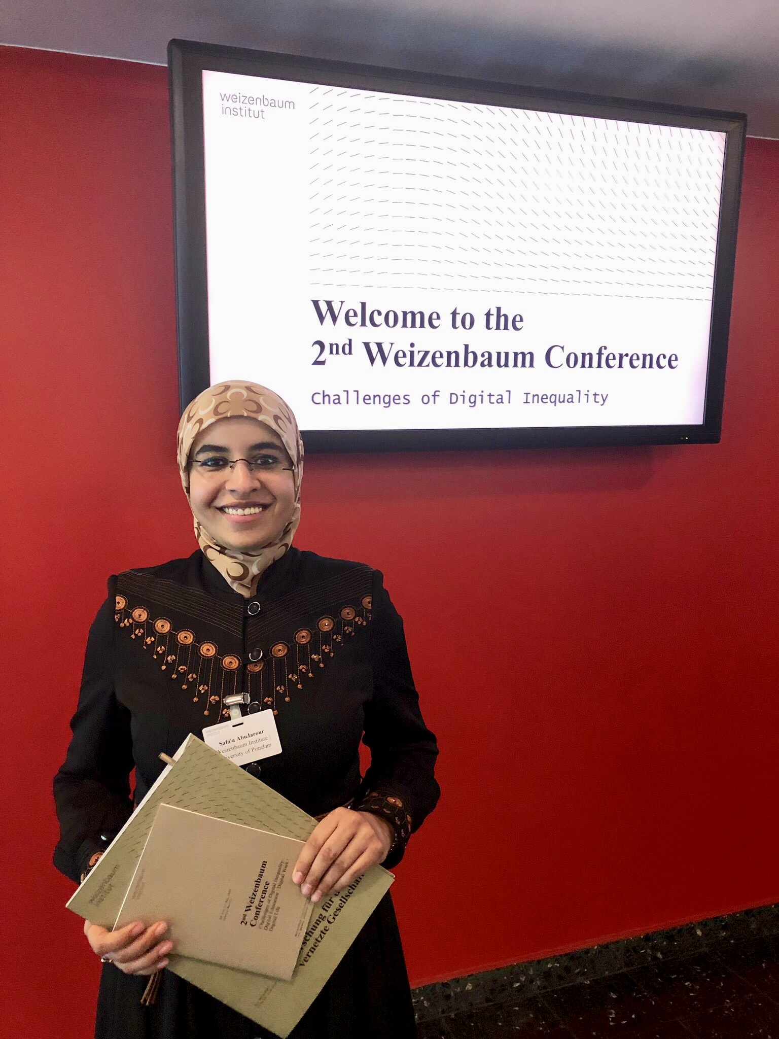 Attending the 2nd Weizenbaum Conference in Berlin, Germany