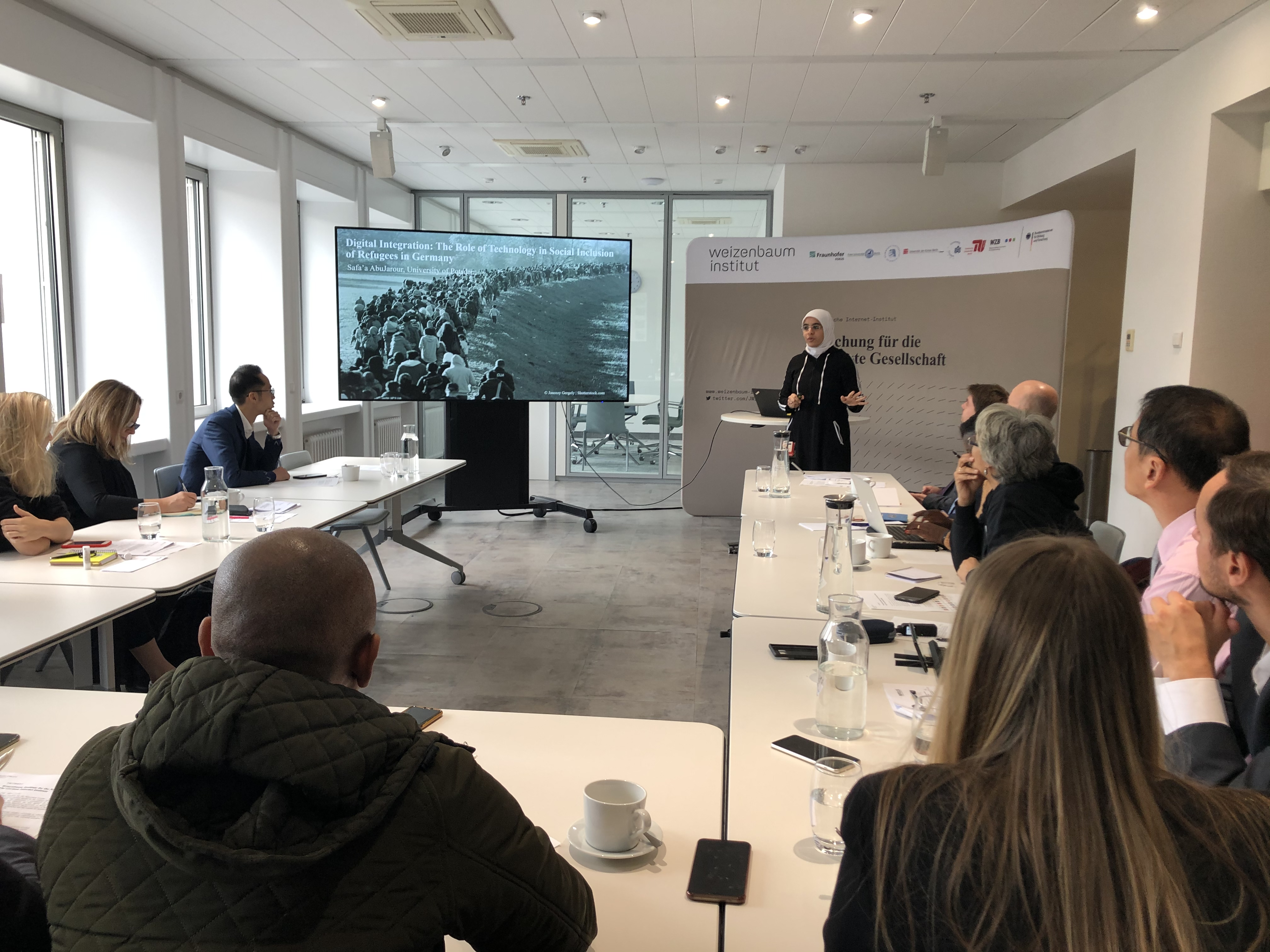 Research Presentation for an International Journalist Delegation